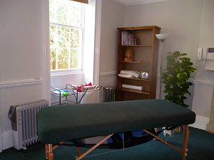 Therapy Rooms to Hire. Room 1 new plant